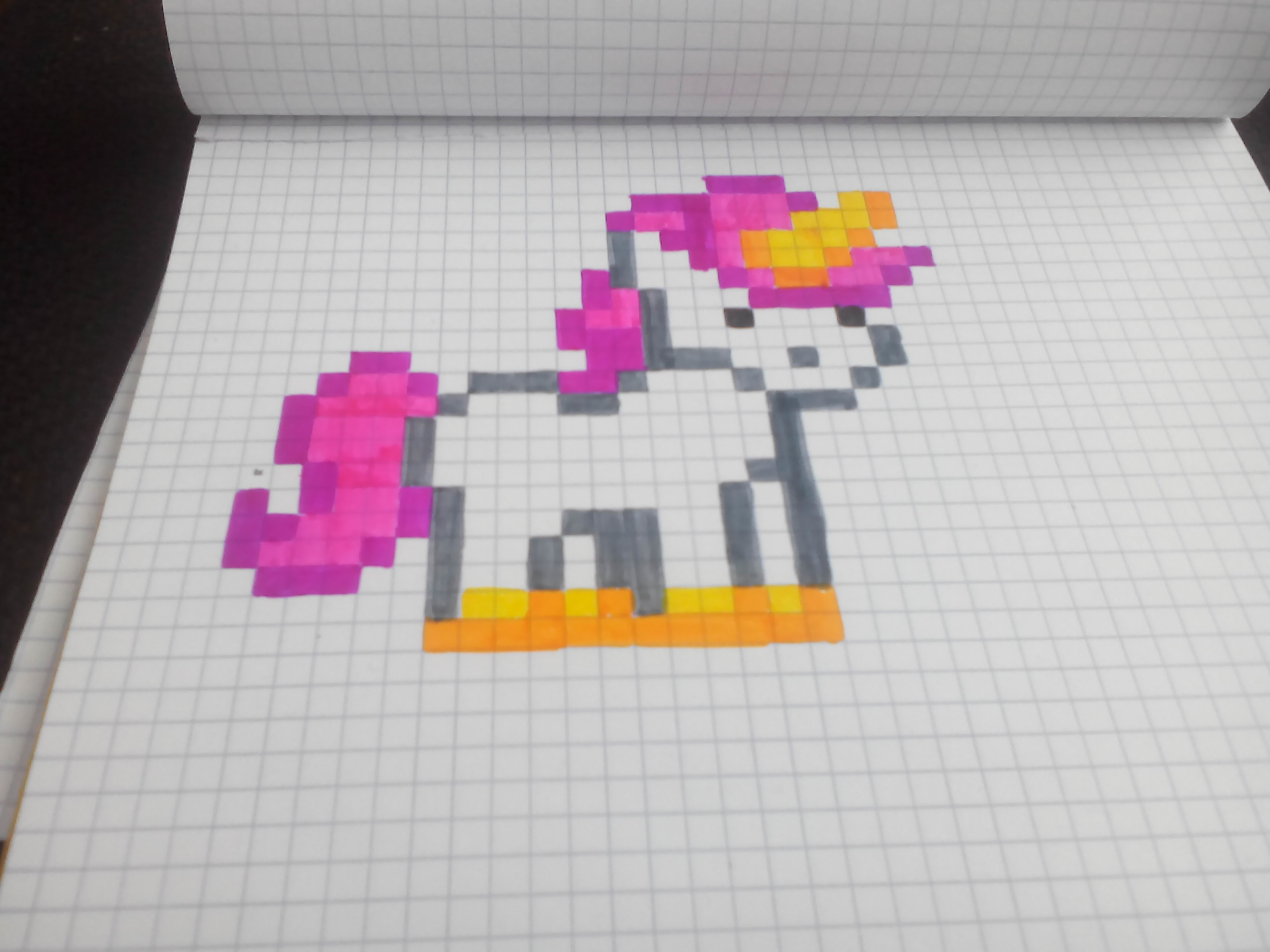 Pixel Art De Licorne Univerthabitat